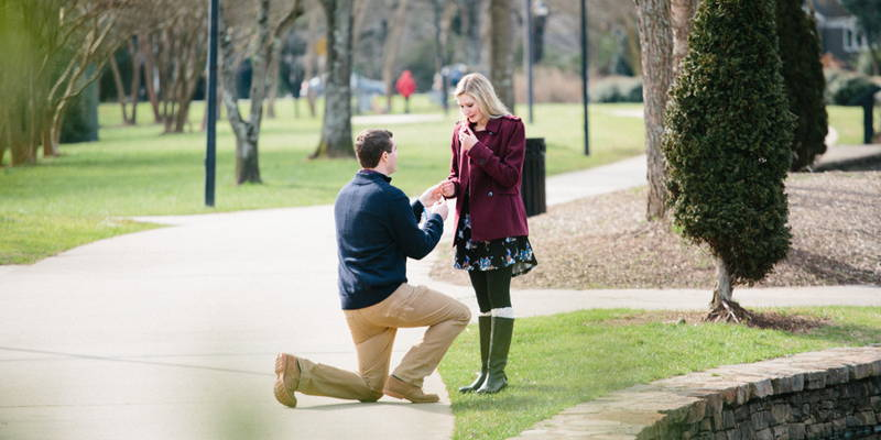 A Surprise Birthday Party Turned Surprise Engagement