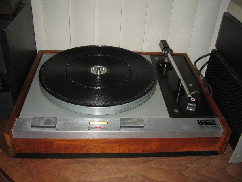 Thorens 125 with Decca-Scott Tonearm/Cartridge Turntable