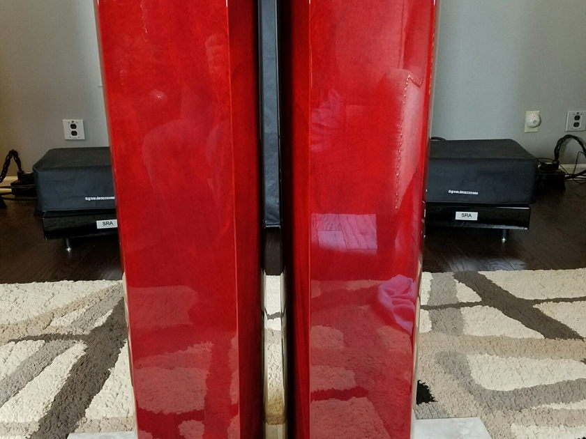 KEF XQ-40 Loud Speakers Low Hours Great Condition