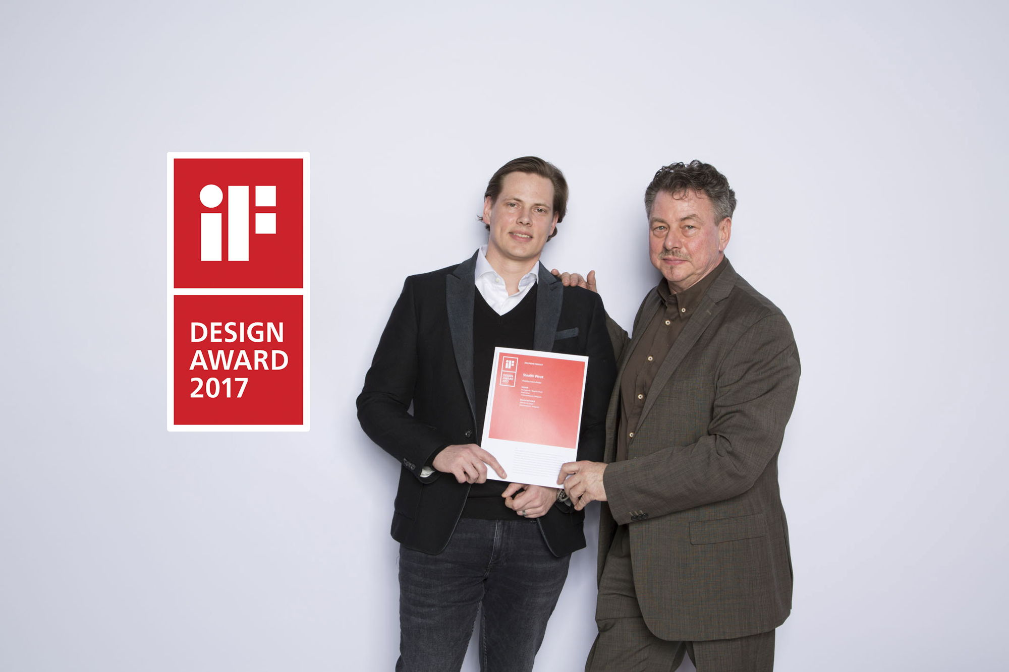 Stealth Pivot receives a prestigious iF design award 2017