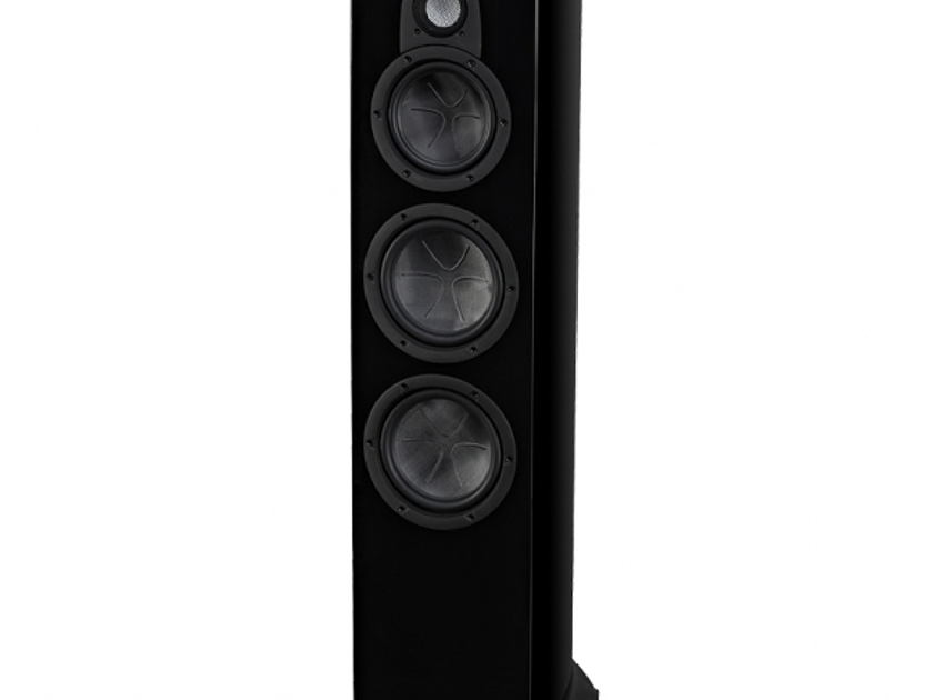 WHARFEDALE JADE 7 Floorstanding Loudspeakers: Mint Condition Demo Unit; Full Manufacturer's Warranty; Piano Black; 40% Off