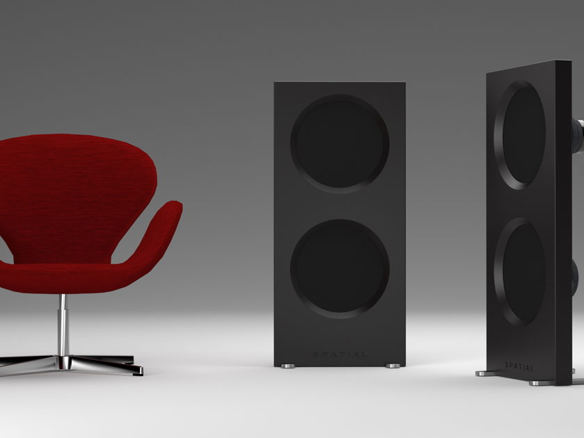 Spatial Audio Hologram M3 Turbo - Demo - Revolutionary Passive Open Baffle Design
