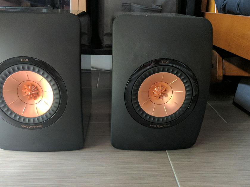 KEF LS50 Black/Gold Stereophile Class A
