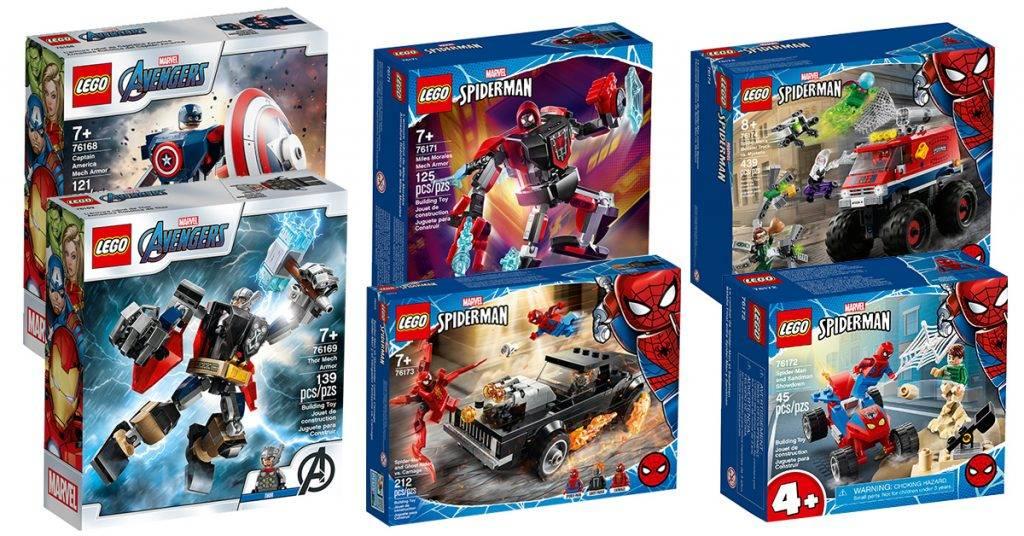 lego marvel sets