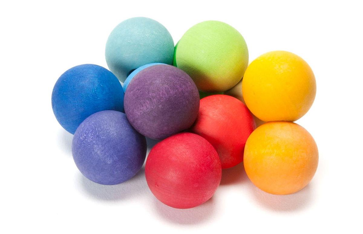 rainbow grasping toy
