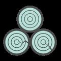 3 types of hardwood icon