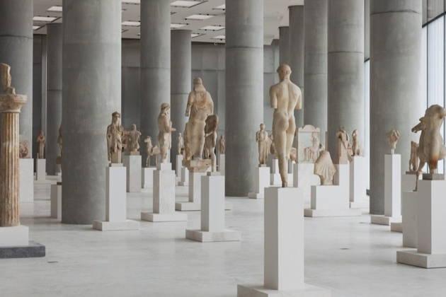 Входной билет в музей Акрополя