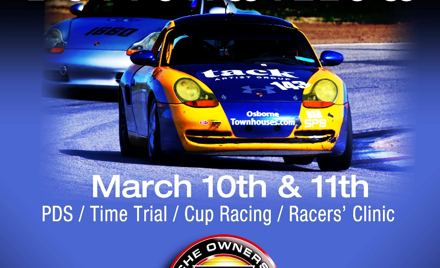 POC @  Buttonwillow March 10-11, 2018
