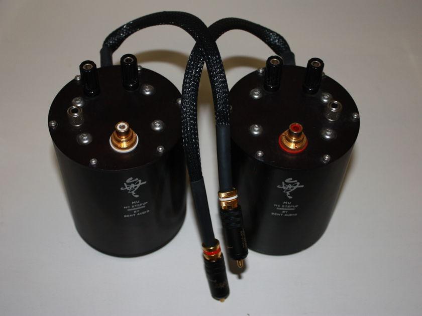 Bent Audio  MU step up transformer Cryogenically treated