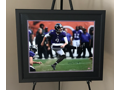 Autographed and Framed Justin Tucker Photo