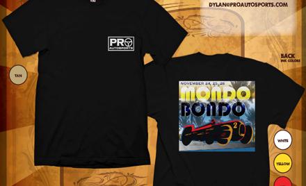 Mondo 2017 T-Shirt Online Order