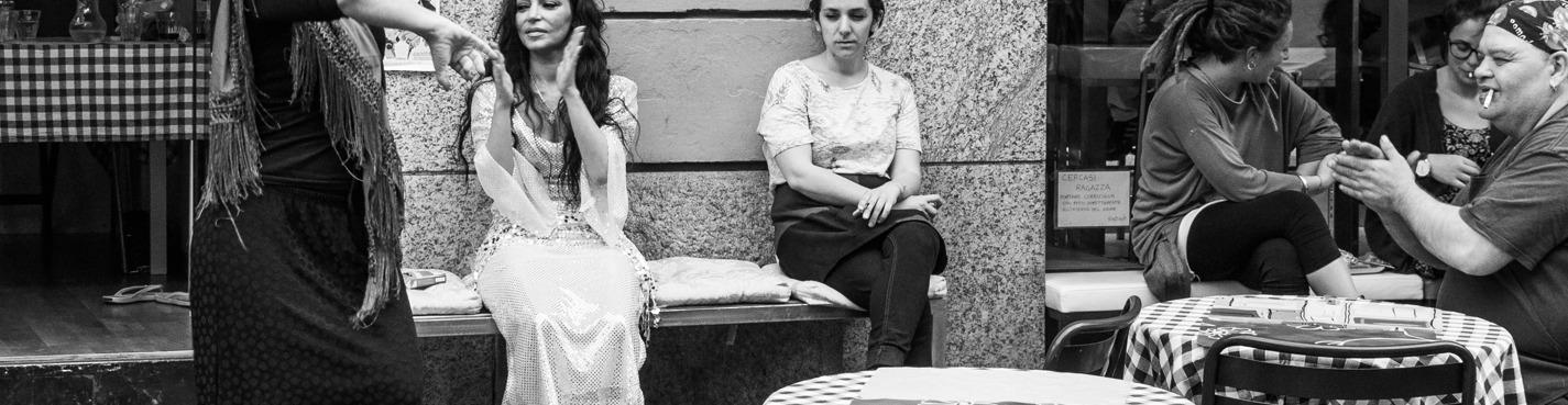 Жаркий фламенко и прогулка по Равалю