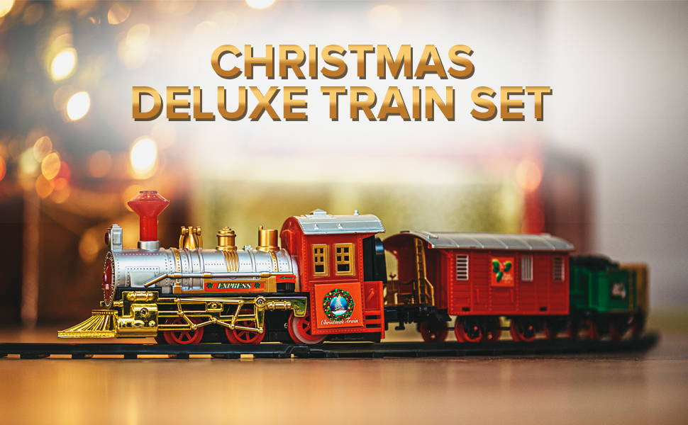 Xmas Deluxe Train Set