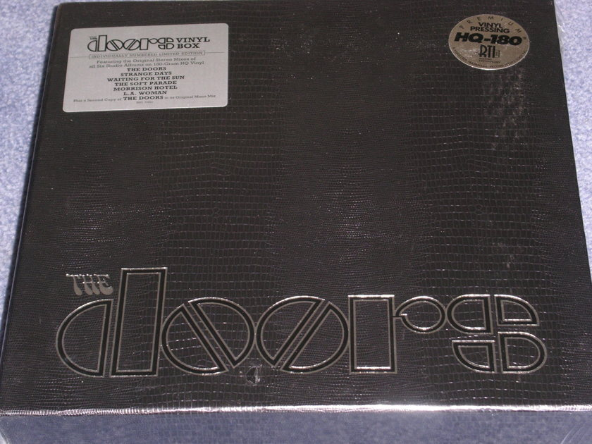 The Doors - 7 LP BOX SET -- Factory sealed 180 gram