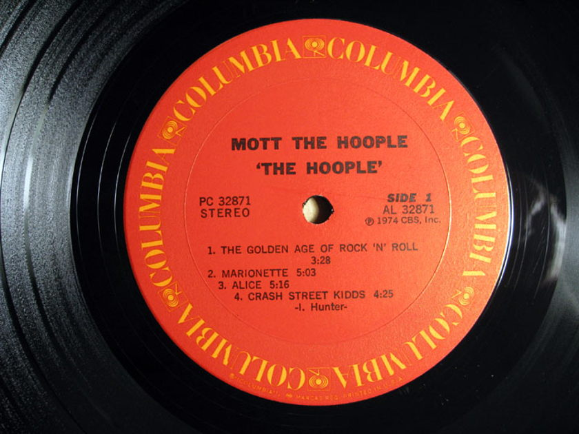 Mott The Hoople - The Hoople - 1974 Columbia PC 32871