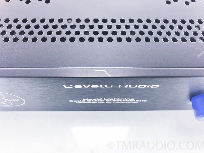 Cavalli Audio Liquid Lightning Electrostatic Headphone Amplifier (2733)