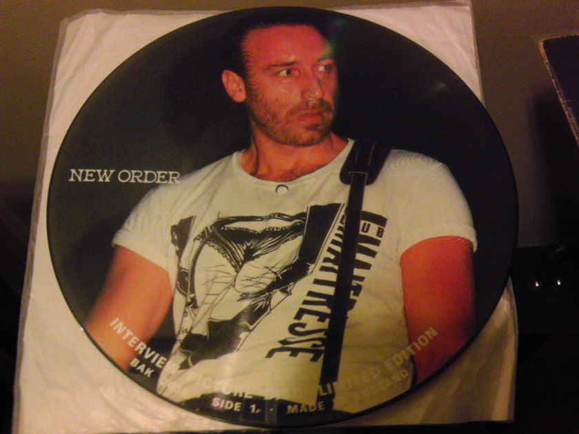 Picture Disc New Order  - Limited Edition Interview Disc NM-