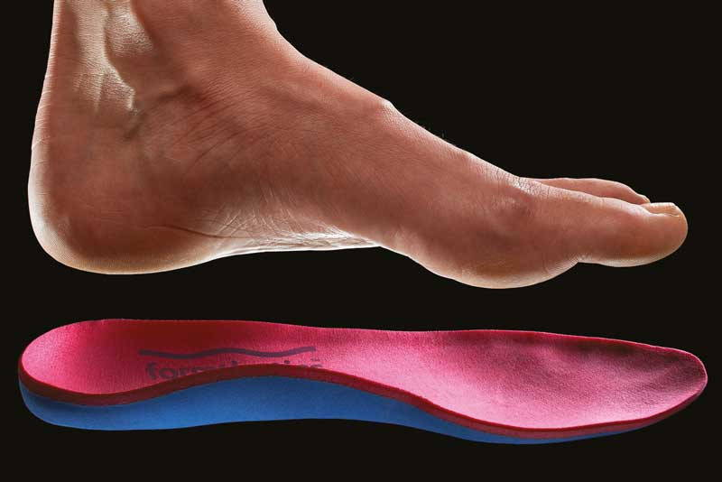 Formthotics pre-fabricated arch-supporting orthotics