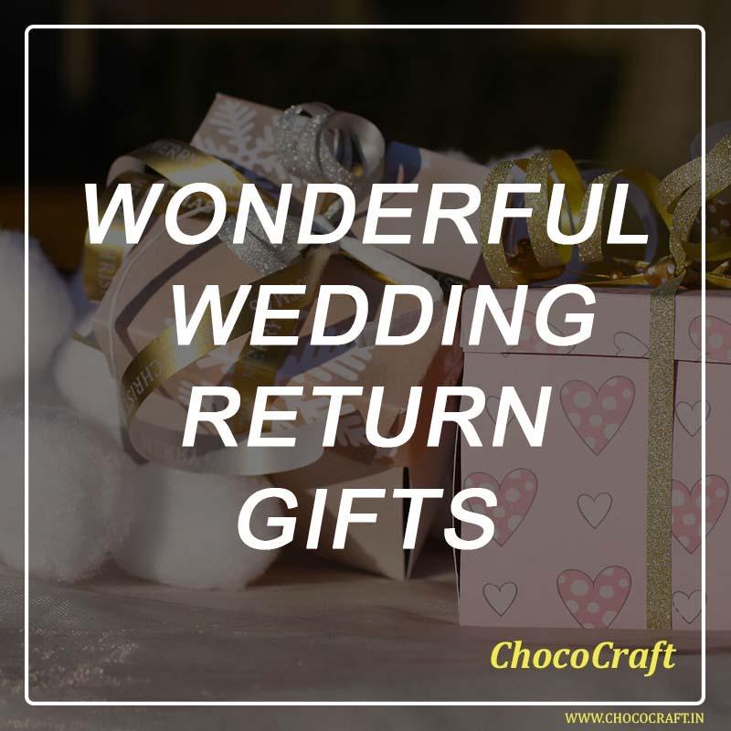 Wonderful Wedding Return Gifts