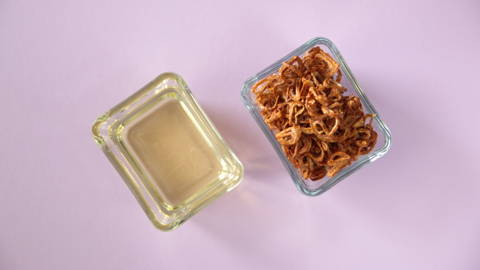 Fried Shallots and Shallot Oil