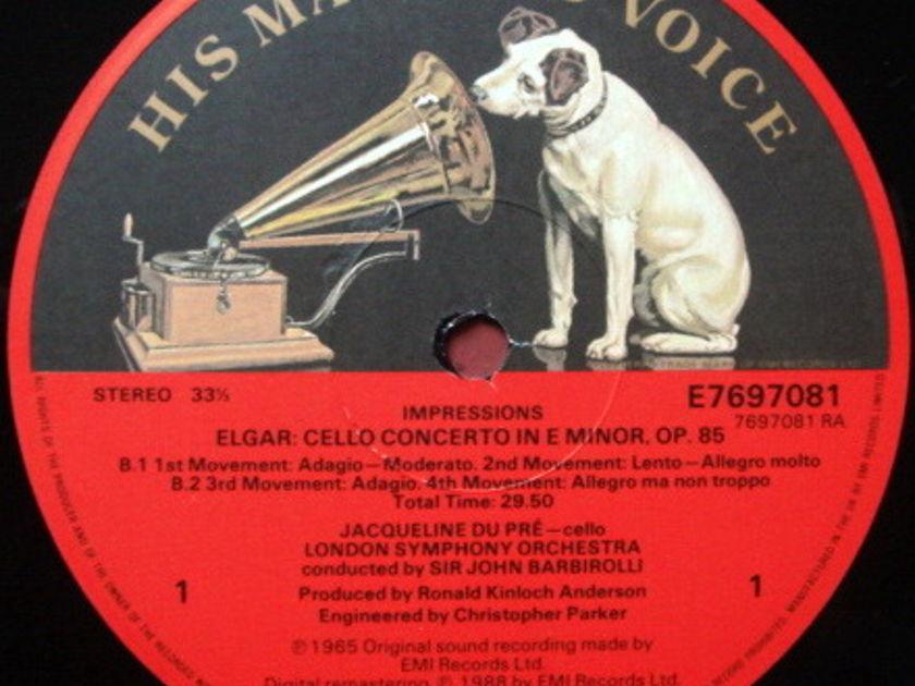 EMI ASD SEMI-CIRCLE / DU PRE, - Jacqueline Du Pre impressions, MINT, 2 LP Set!