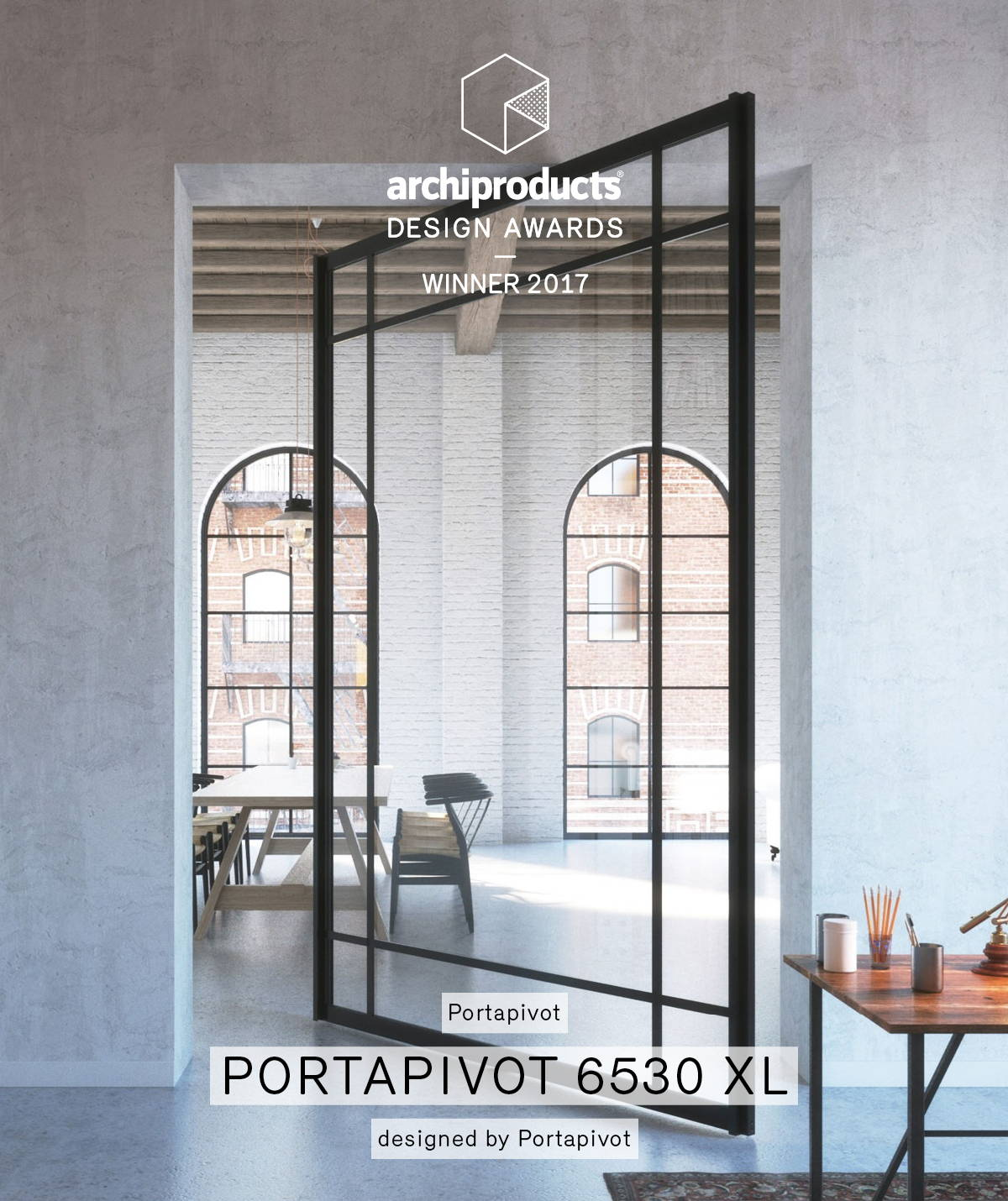Portapivot 6530 XL archiproducts design awards winner 2017