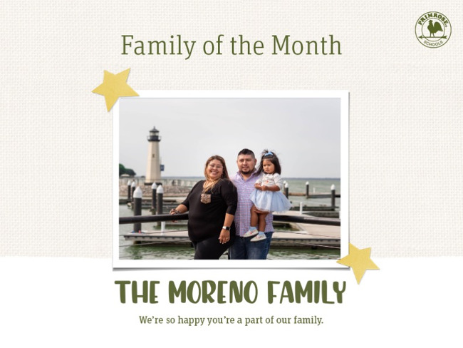 Moreno Family of the Month