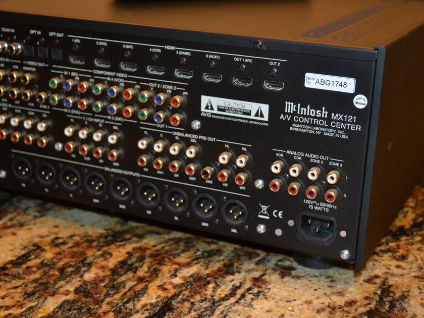 McIntosh MX121 Audio Video Control Center