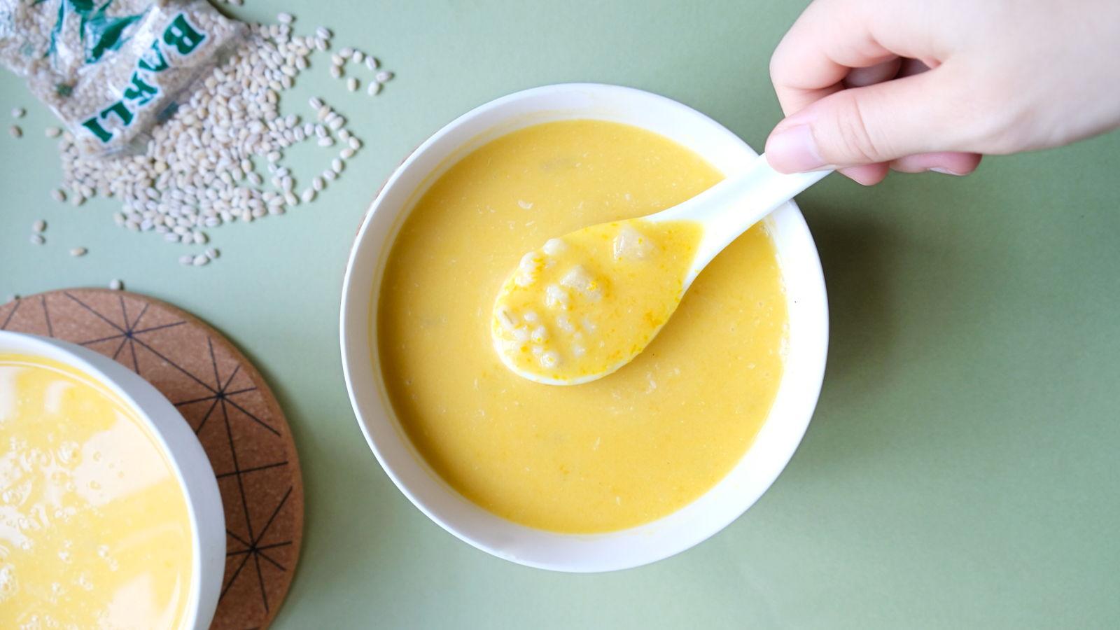 Pumpkin Barley Dessert