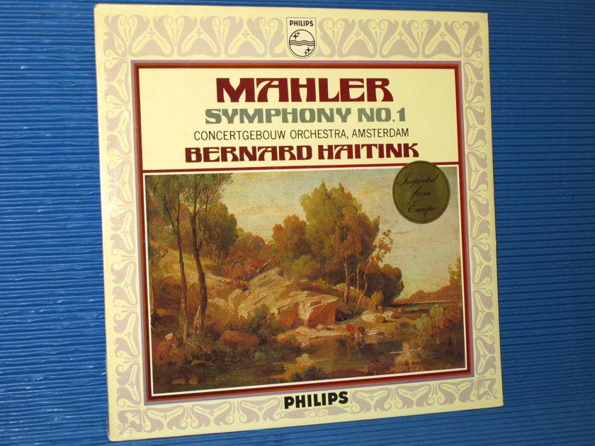 "MAHLER / Haitink  - ""Symphony No.1 ('The Titan')"" -  Philips 1972 Dutch Pressing SEALED"
