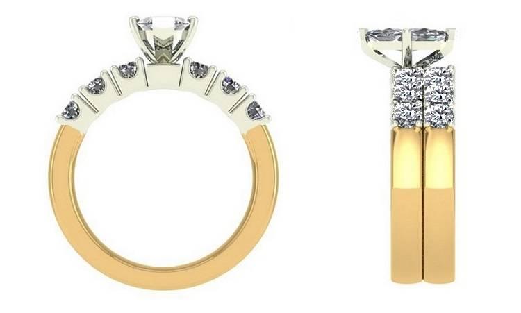 Bespoke diamond ring design from Pobjoy Diamonds