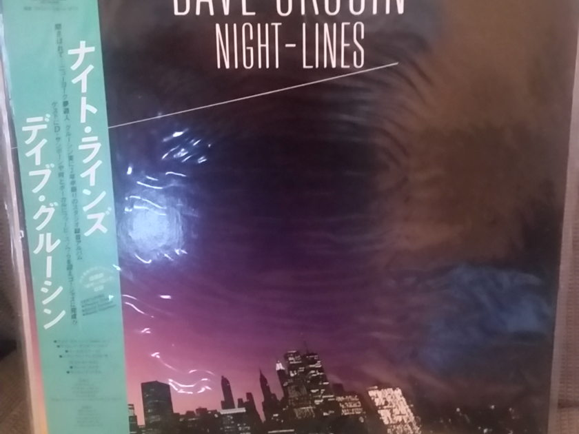 Dave Grusin - Night - Lines LP JAPAN NM