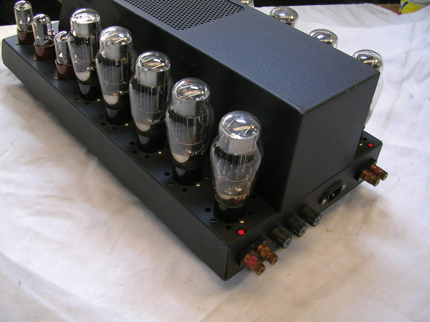 ATMA-SPHERE UV-1  and  S-30  TOTALLY RETUBED I May Divide These Amplifiers