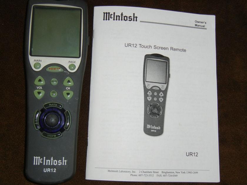 McIntosh UR12 Universal Remote Control