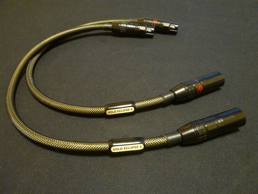 WIREWORLD WIRE WORLD GOLD ECLIPSE 6 XLR 0.5M PAIR