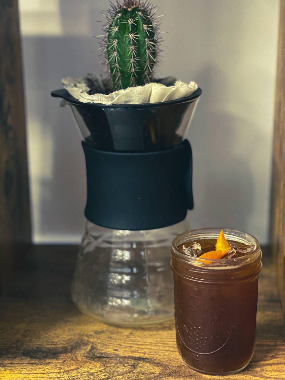 Spritzy Americano coffee cocktail