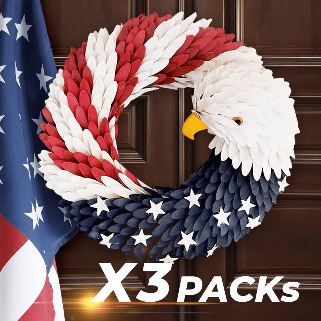 american eagle wreath, american eagle door wreath, american eagle wreath pier 1,