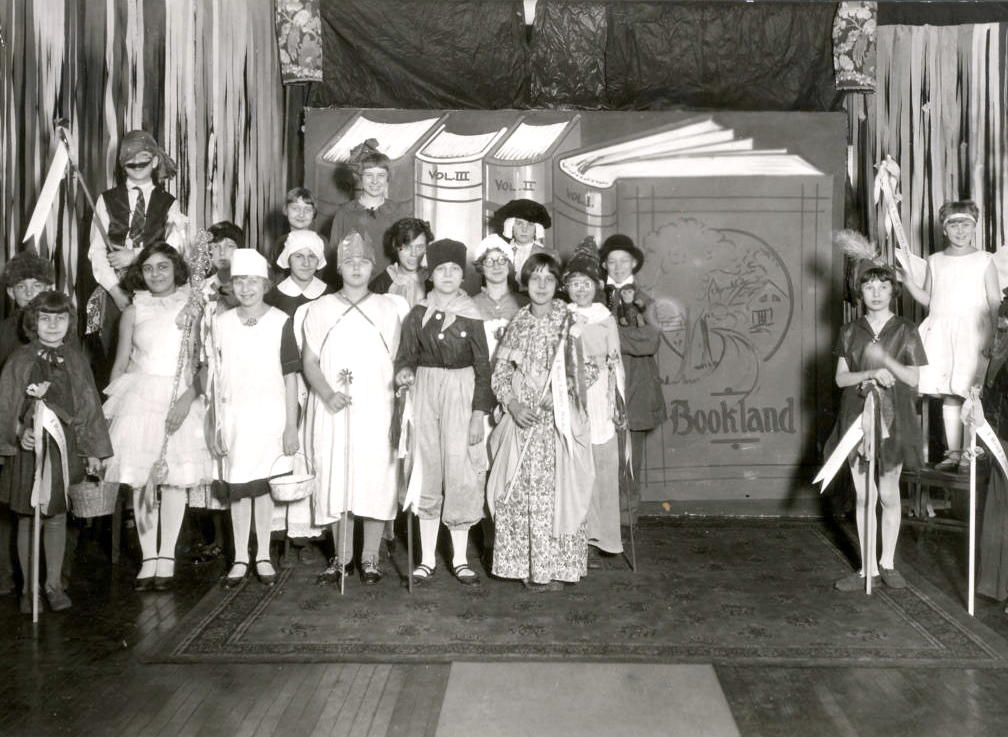 Children's Play entitled Bookland (Library 1920)