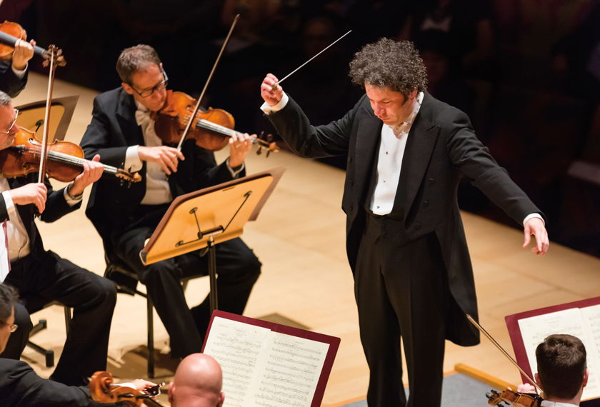 Dudamel Conducts Copland artwork