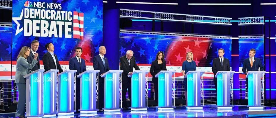 October Democratic Debate Odds & Props: The Who's Who of the Democratic Candidates