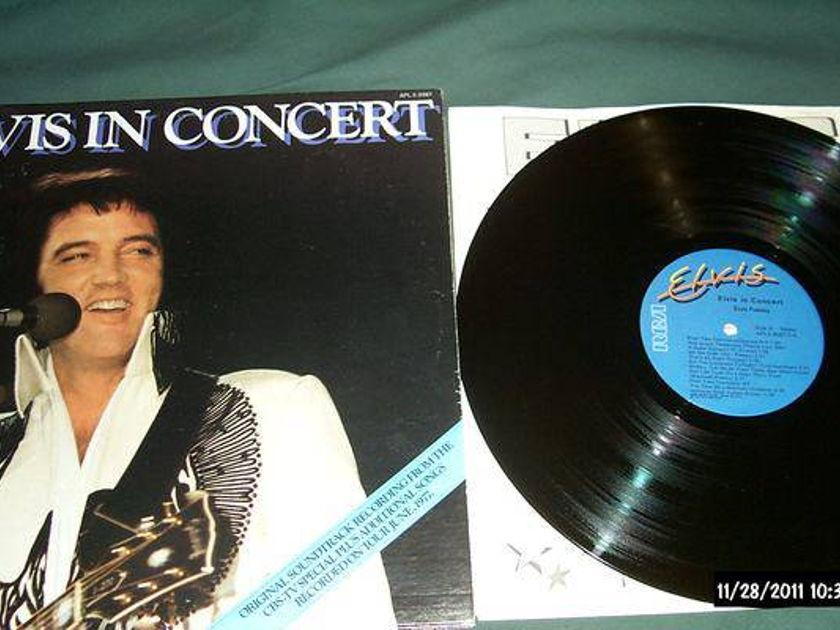 Elvis presley - Elvis In Concert 2 lp nm