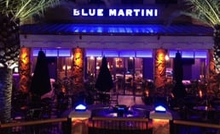 Monthly Meeting at the Blue Martini Lounge