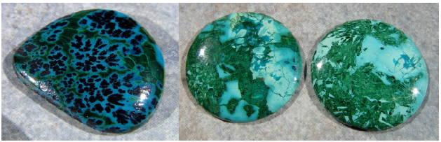 Chrysocolla chalcedony yves lemay jewelry