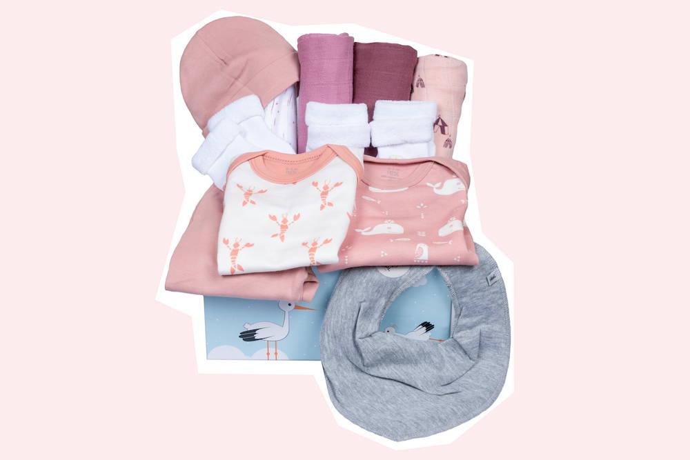 Babybox als Geburtsgeschenk für Mädchen von Taidasbox