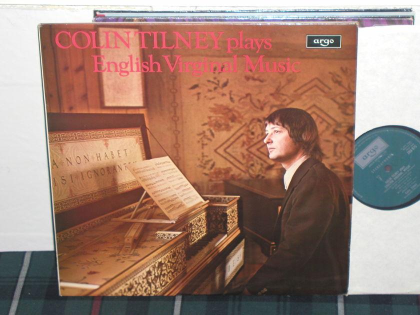 Colin Tilney - Byrd/Philips  LP UK argo/decca zrg-675