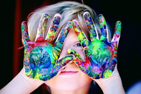 la peinture par numéro pour enfant
