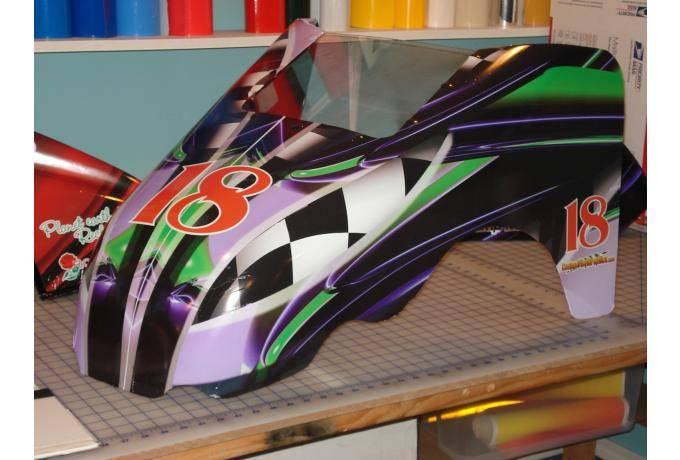 Go Kart Vinyl Wrap
