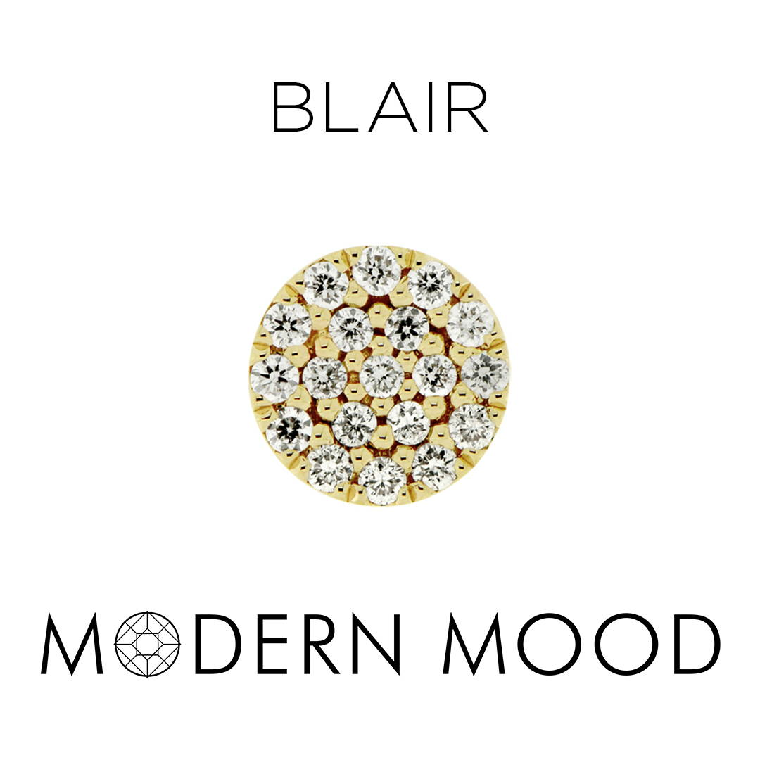 blair diamond disc piercing jewelry