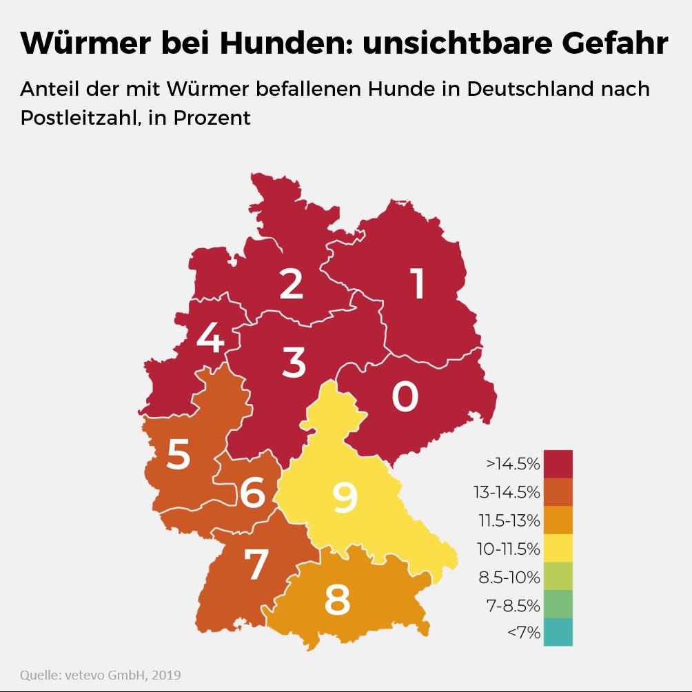 Parasiten-Atlas für Deutschland