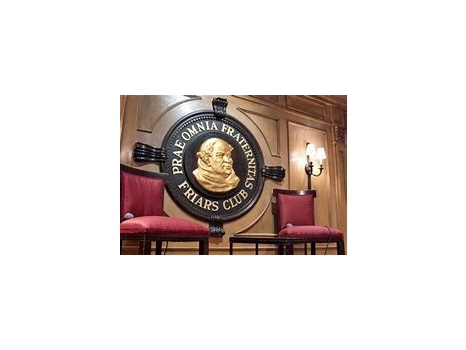 Friars Club Dinner and Comedy Event for Two